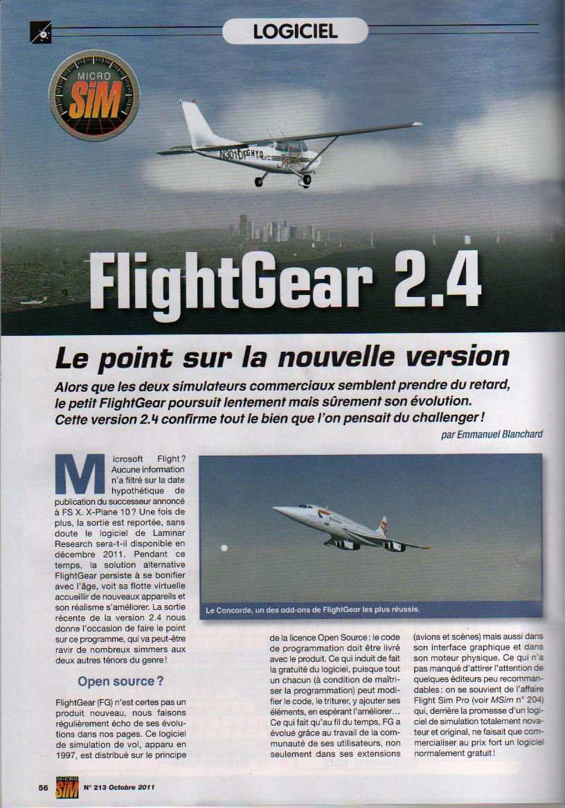 L'Annuaire de la Simulation voilà c'est fait, la PAF y est :) Page1