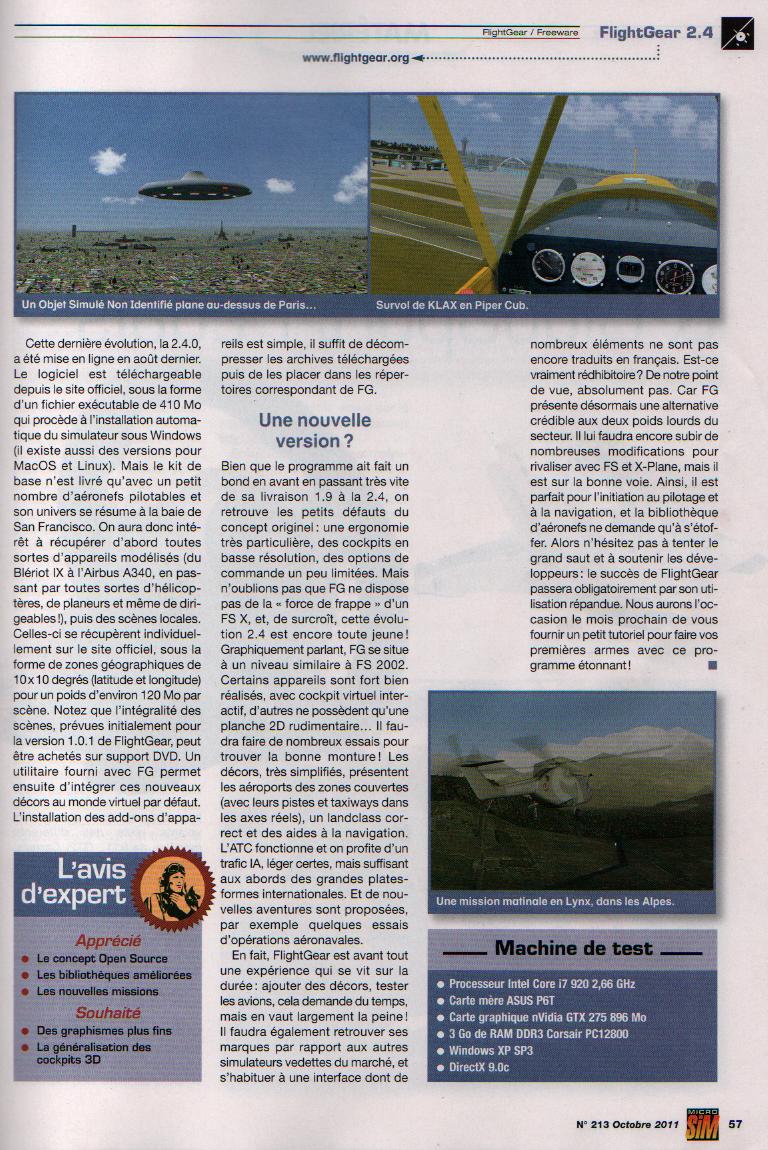 L'Annuaire de la Simulation voilà c'est fait, la PAF y est :) Page2