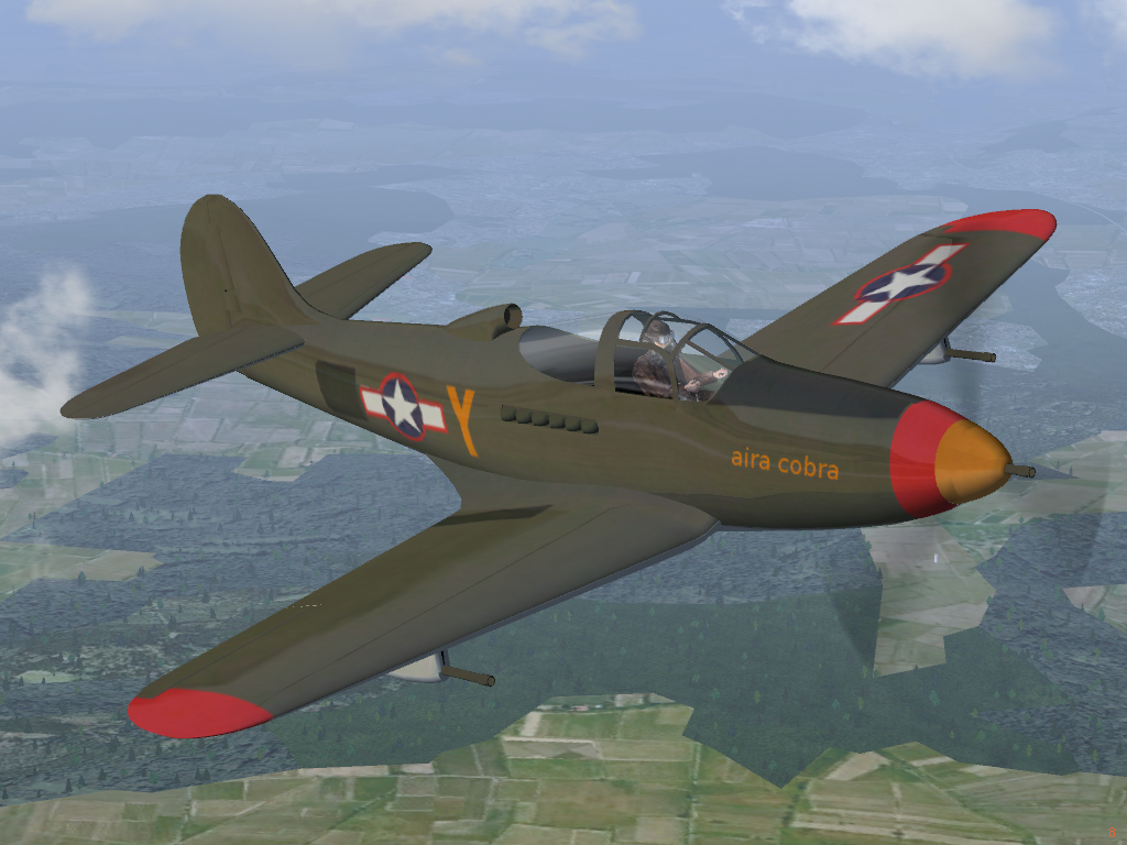 Bell P39 Airacobra P39