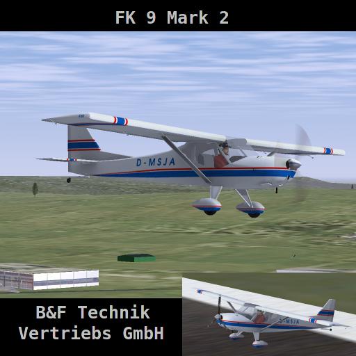 Tecnam-P92-Echo Fk9mk2-splash