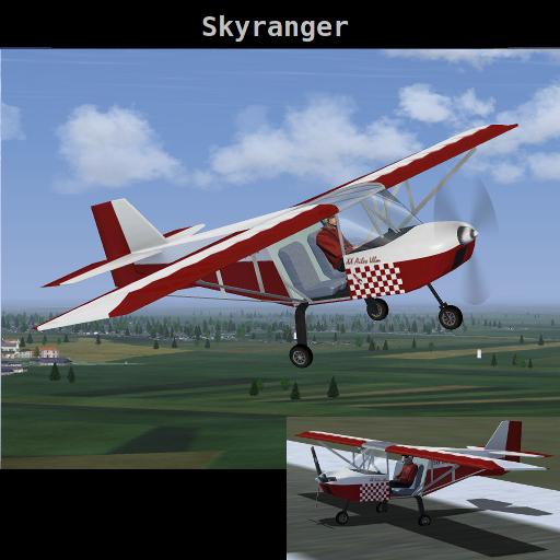 Tecnam-P92-Echo Skyranger-splash
