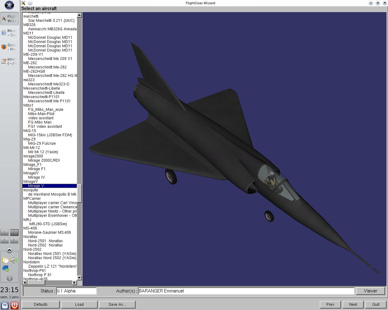 Mirage III / Mirage V MirageV-4