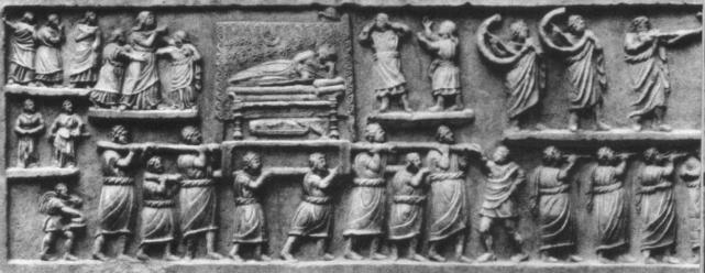 Rites funéraires : Empire Romain FuneraillesRome
