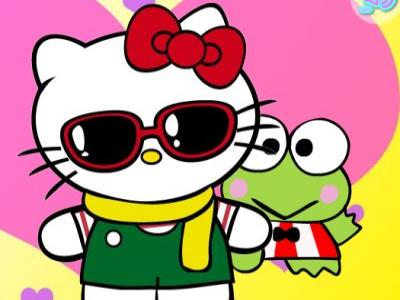 [Jeu] Association d'images - Page 5 Dress-Up-Hello-Kitty