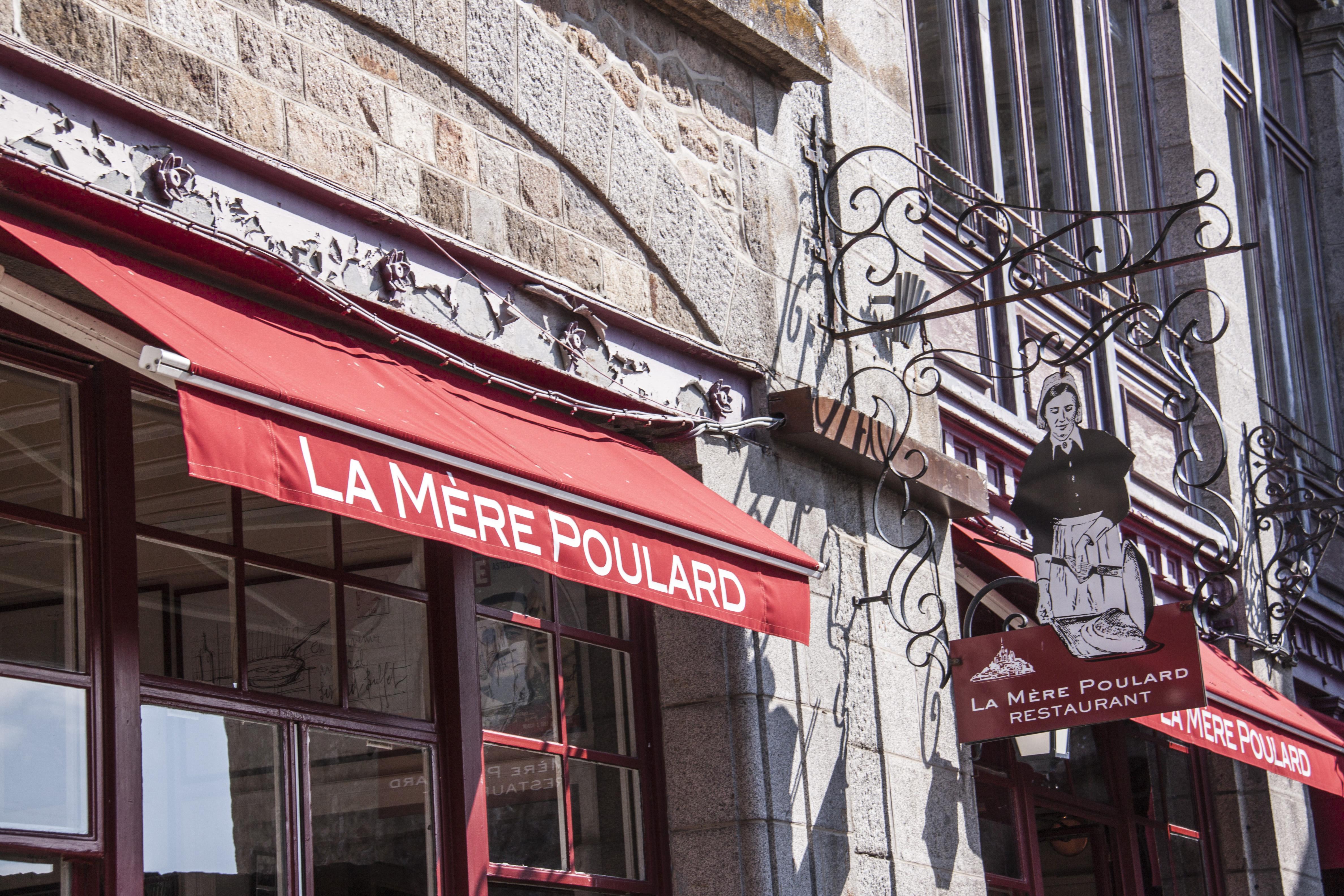 Le Mont Saint Michel... - Page 2 La-mere-poulard
