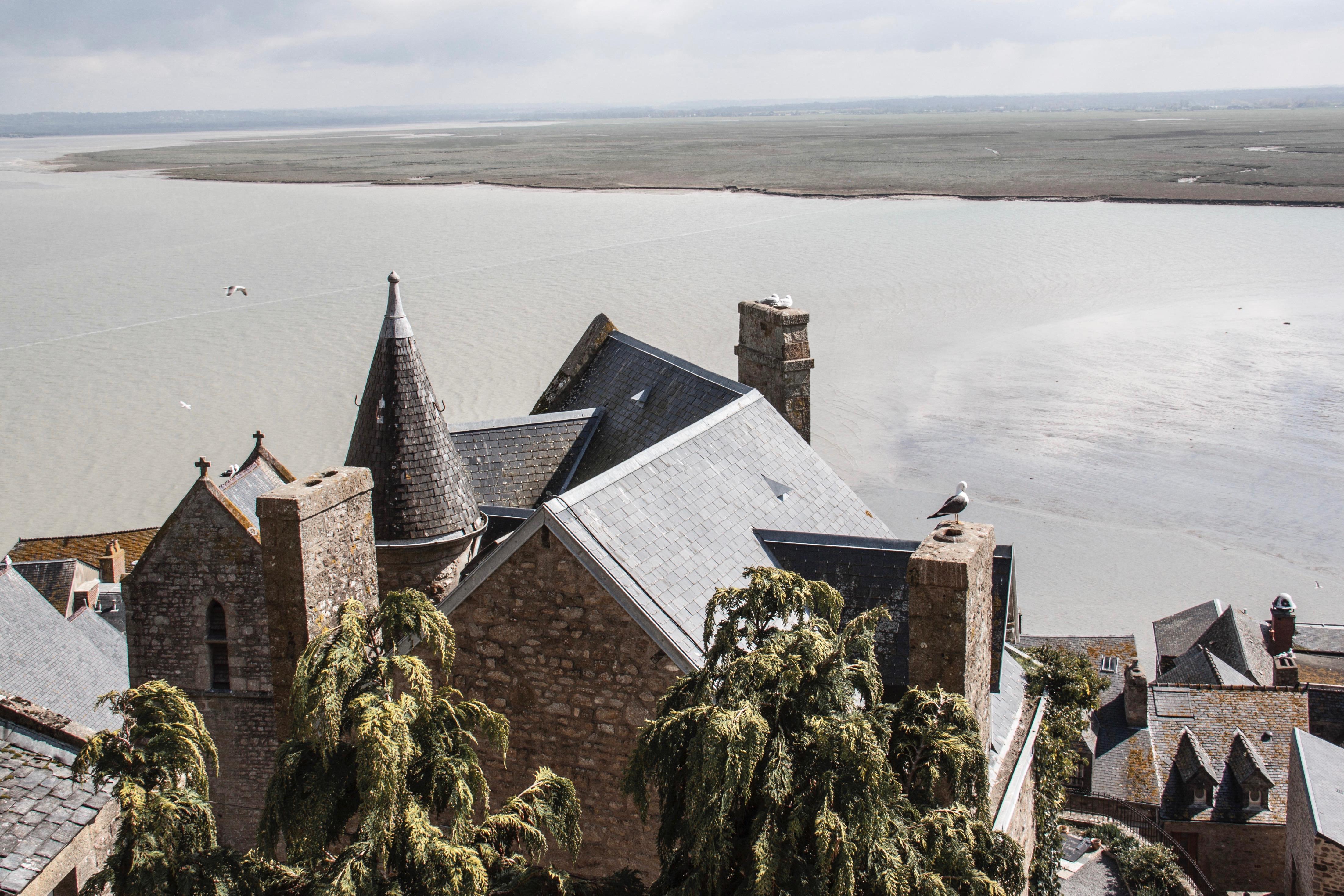 Le Mont Saint Michel... - Page 2 Rempart-mont-saint-michel
