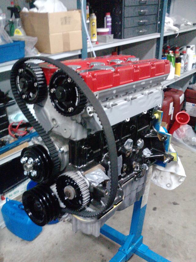 Majkey - Sierra Cosworth, mappad 12-05-31 Motor