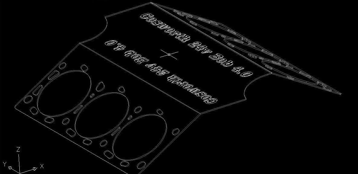 Tobbe H - Granada 4.0 24v Cosworth- UTE PÅ GATAN Gasket