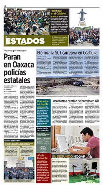 Policías de Oaxaca REST20150201-012