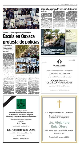 Policías de Oaxaca REST20150205-017