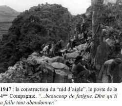 - Récit et photos du poste de Ban-Cao du Cpitaine MATEU 04-nid-aigle01