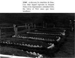 - Récit et photos du poste de Ban-Cao du Cpitaine MATEU 11-cimetiere-1948