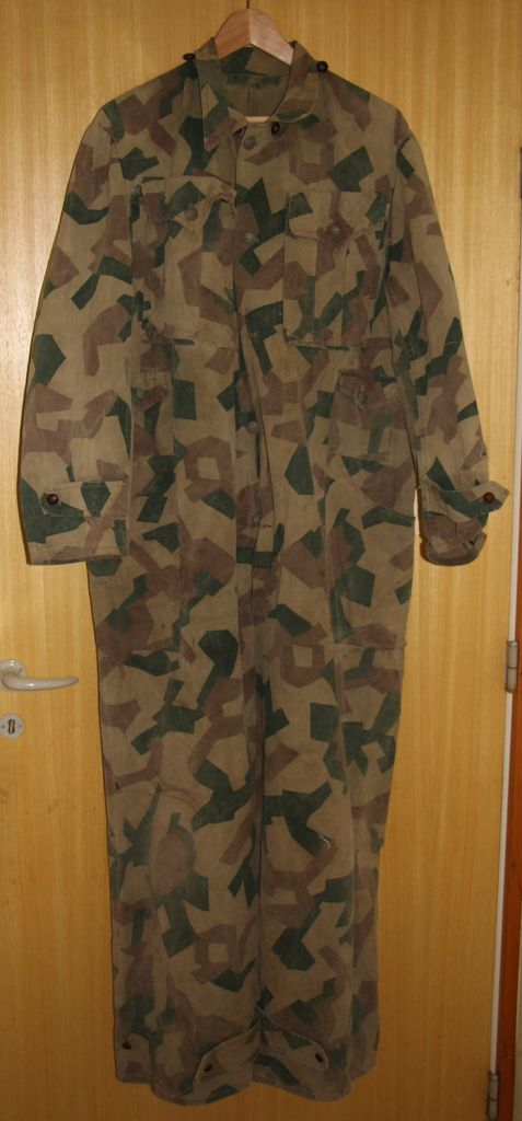 Bulgarian Post War Camouflage Coveralls Bulgariancoverall