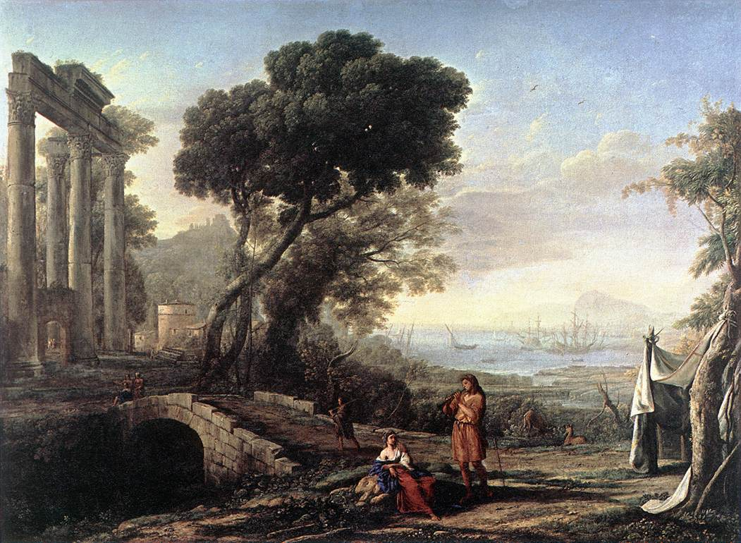 Claude Lorrain, (1600-1682) Claude_Lorrain_Picturesque
