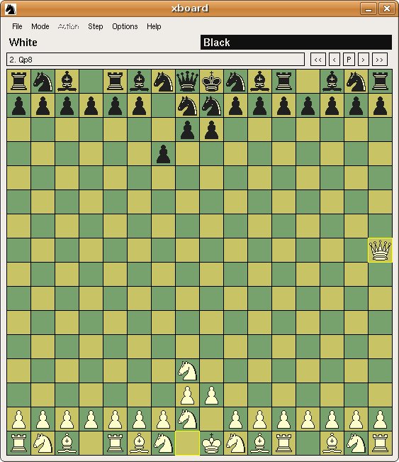 I'm looking for a big board software (16x16) ? Bigchess