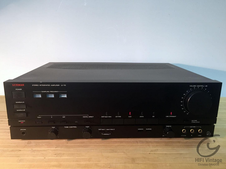 O que trouxe o Pai Natal (musica/áudio)? Luxman-lv-113