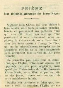 Les francs-maçons  - Page 3 T-Priere1