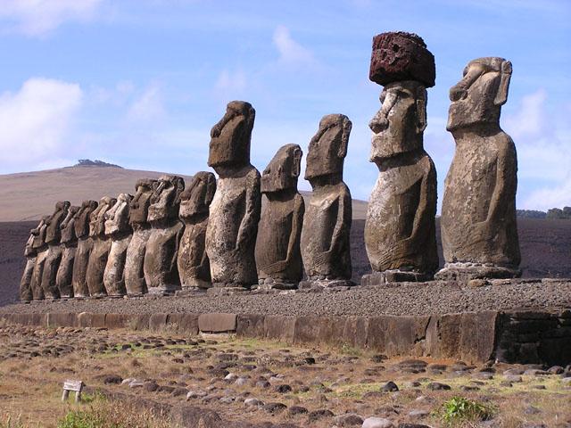 Zanimljivosti o poznatim građevinama Moai