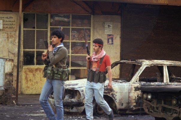 scènes de combat (armée libanaise, palestinien, chrétien...) 1982-amal-n505353208_76295_5534