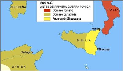 [HISTORIA]Primera Guerra Púnica (264-241 a.c) Roma-cartago-sicilia