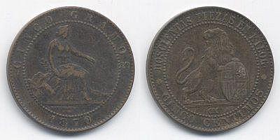 En las monedas de cobre ¿esto es pátina? Espana_gobierno_provisional_1870_5_centimos