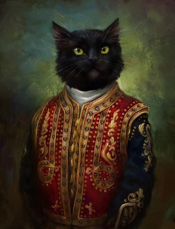 Los gatos, guardianes de la cultura en San Petersburgo Hermitage-cat