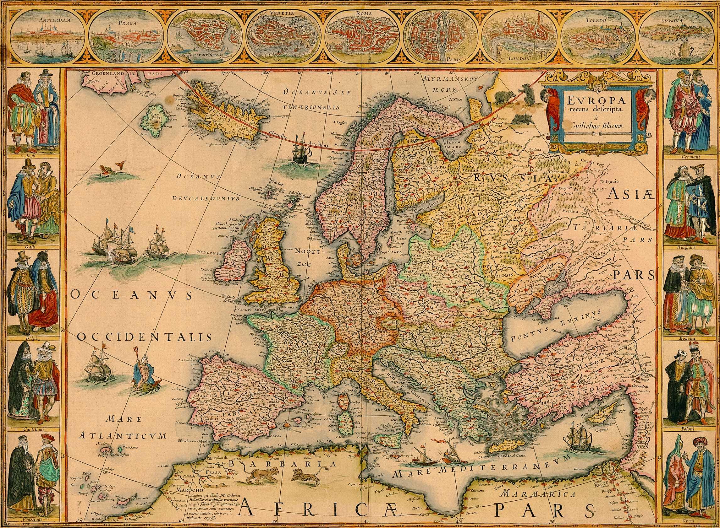 Stare geografske mape i karte - Page 6 Blaue_europe