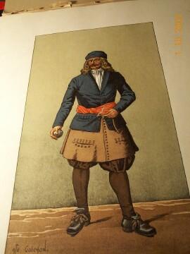 Vêtements de l' artilleur de marine Goichon-o
