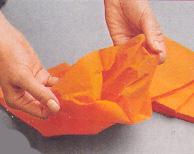 Бумажные цветы для декорирования праздничного стола. Мастер-класс 22