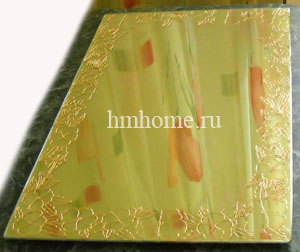 Витражная роспись зеркала. Мастер-класс 61