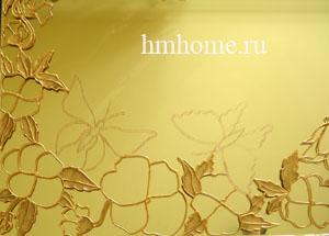 Витражная роспись зеркала. Мастер-класс 81