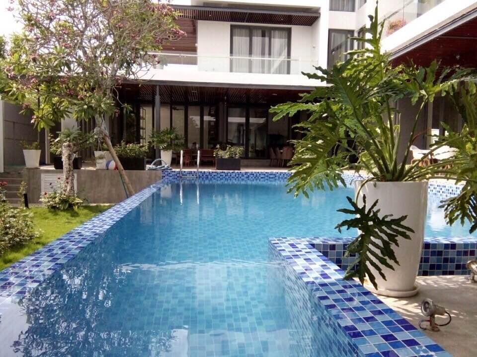 Nội, ngoại thất: Thi cong ho boi chuyen nghiep - Thi Công Hồ bơi Villa Cồn Khương IMG_0723