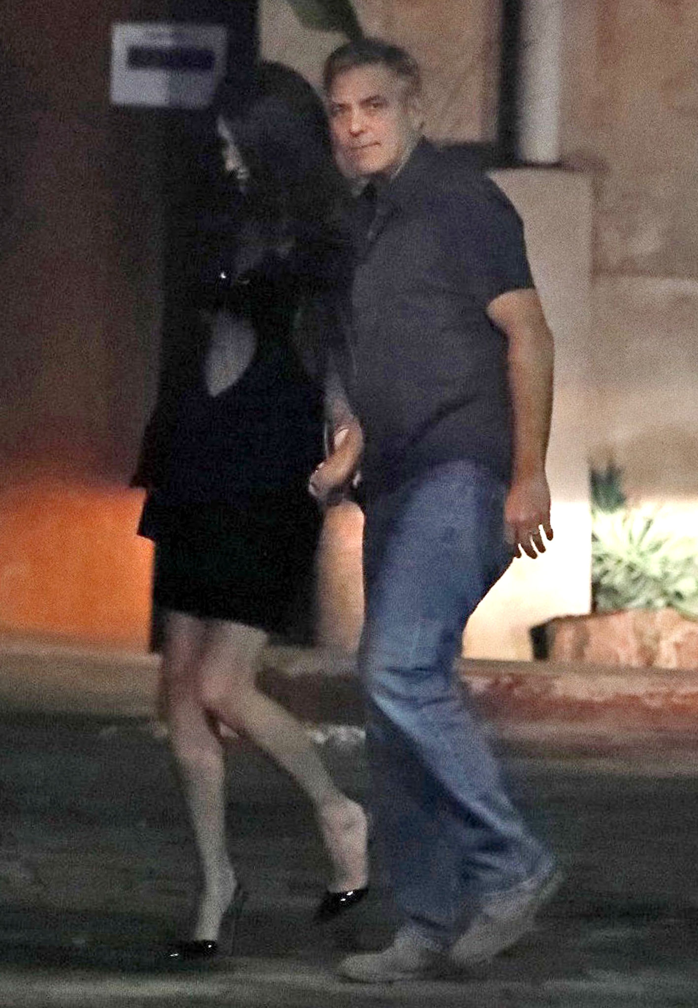 George and Amal Clooney at dinner in Spain FFN_OHPix_Clooney_George_020217_52302578