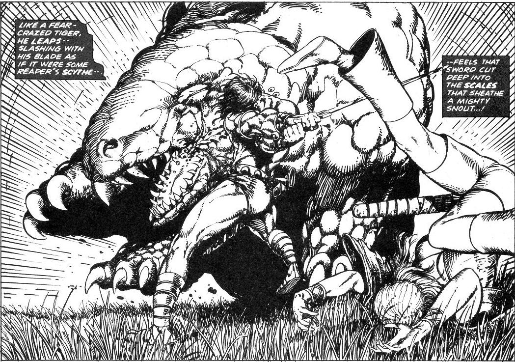 Conan peleando contra un dinosaurio! 3185753072_b2ffa42a97_o