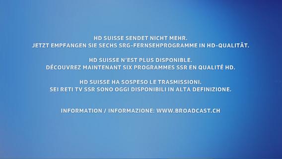 HD suisse cessera d'émettre le 31 janvier 2012 - Page 2 Panneaufinhdsuisse