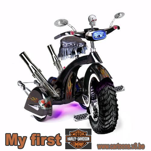 Trikes a toutes les sauces..... - Page 6 My-first-harley-davidson