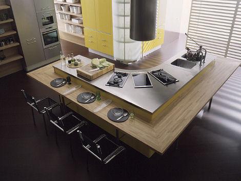 7 НАЧИНА ДА МАЛИ СТАН УЧИНИТЕ ВЕЋИМ Effeti-misura-laquered-kitchen