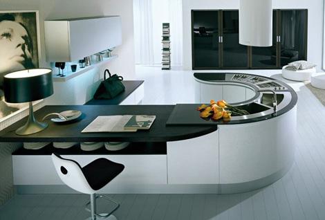 Virtuvė  . New-integra-u-shape-pedini-kitchen