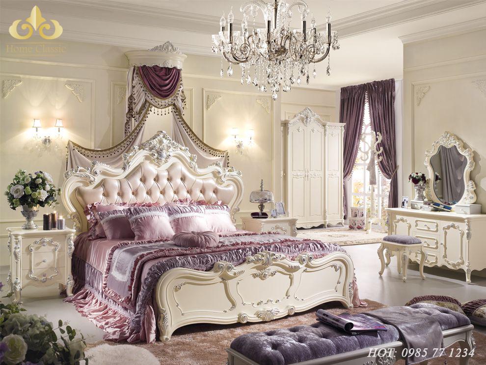 Nội, ngoại thất: Những mẫu giường ngủ tân cổ điển nhập khẩu đang được yêu thích Guong-ngu-tan-co-dien-28