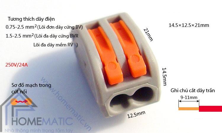 Diễn đàn rao vặt: Cút nối dây điện tiện lợi một đầu ra nhiều đầu Homematic_cut-noi-day-dien-khong-can-noi-day-khong-can-kim-bam-kv7744