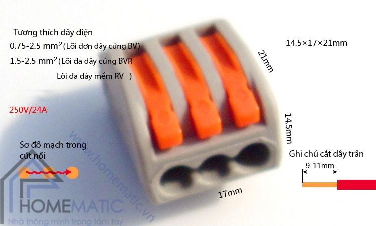 Diễn đàn rao vặt: Cút nối dây điện tiện lợi một đầu ra nhiều đầu Homematic_cut-noi-day-dien-khong-can-noi-day-khong-can-kim-bam-kv7745