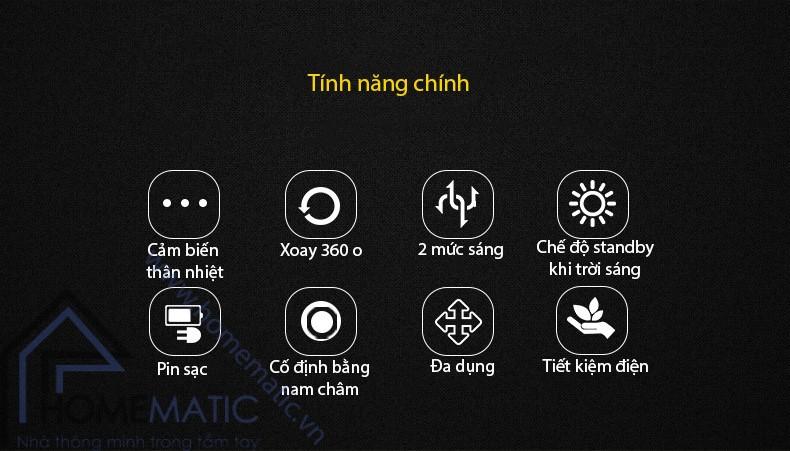 Diễn đàn rao vặt: Đèn ngủ có cảm biến chuyển động Homematic.vn_den-ngu-cam-bien-tiet-kiem-dien-xoay-360