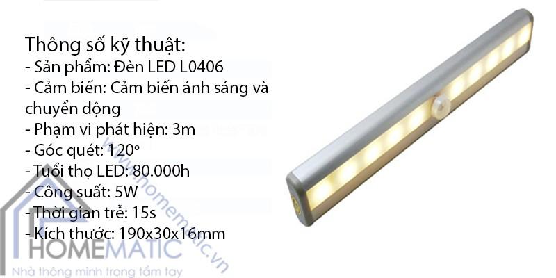 Diễn đàn rao vặt: Đèn tủ quần áo dùng pin tiểu Homematic.vn_den-tu-quan-ao-da-nang-cam-ung-chuyen-dong-va-anh-sang-l04061