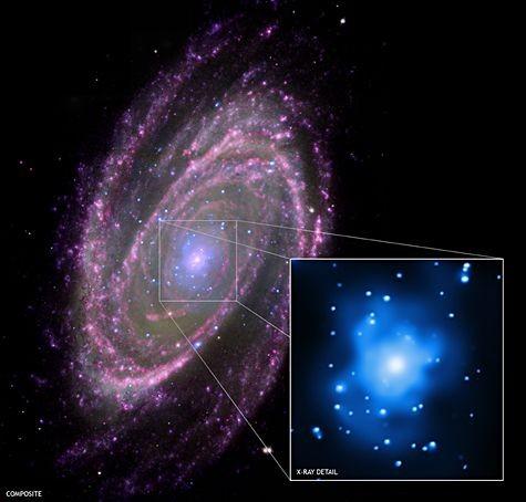 Le trou noir supermassif au centre de la galaxie  2037448195