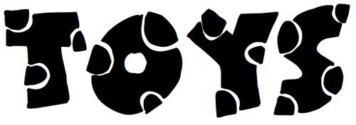 40款免费的精品卡通字体下载 Broken-Toys