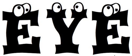 40款免费的精品卡通字体下载 Eyesis