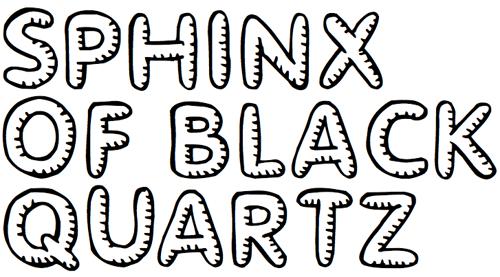 40款免费的精品卡通字体下载 Glimstick