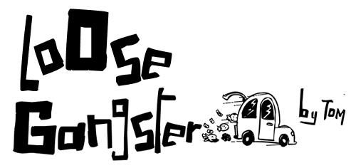 40款免费的精品卡通字体下载 LoOse-Gangster