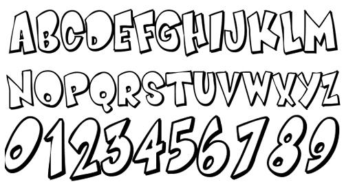 40款免费的精品卡通字体下载 Smartie