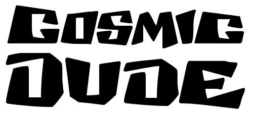 40款免费的精品卡通字体下载 Cosmic-dude